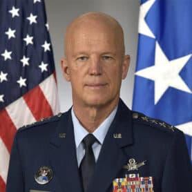 """Gen. John W. """"Jay"""" Raymond, USSF"""